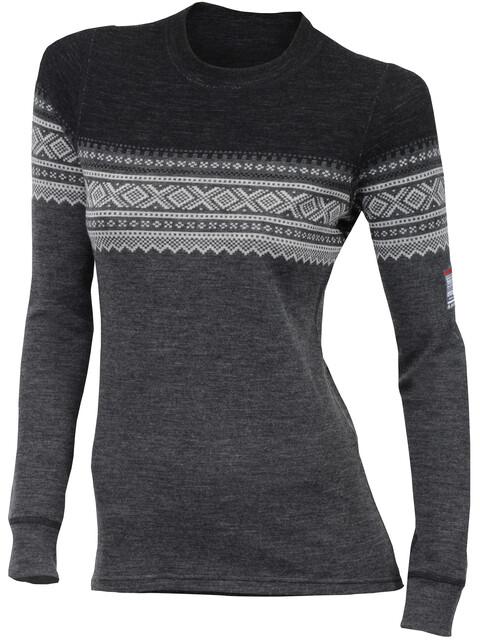 Aclima DesignWool Marius - Camiseta de manga larga Mujer - gris